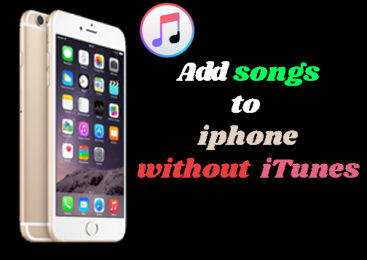 Wihtout iTunes Add songs to iPhone